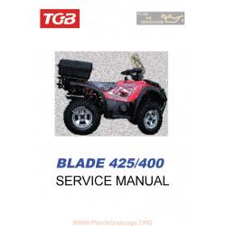 Tgb Blade 425 400 Manual De Reparatie