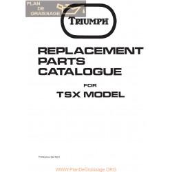Triumph  1982 Tsx 750 Unit Twins