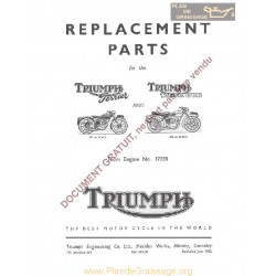 Triumph 150 200 Tiger Jerrier Mo 1956