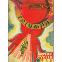 Triumph 1929 Produzione