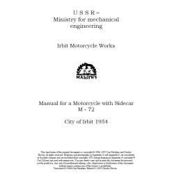 Ural M72 Manuale