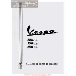 Vespa 125 150 160 De 1971 Despiece