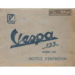 Vespa 125 Acma Ne 1953