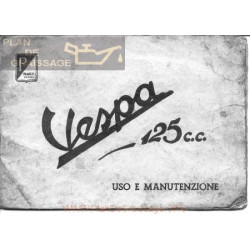 Vespa 125 Manual Uso Y Mantenimiento Edicicon 1961 It