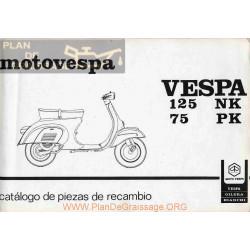 Vespa 125 Nk Despiece