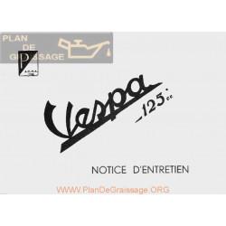 Vespa 125 V30 Version 1951 Manual Uso Y Mantenimiento Fr