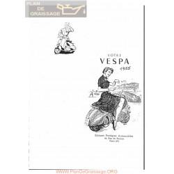 Vespa 125 Version 1955 Manual De Taller Estudio Rtm Fr