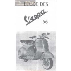 Vespa 125 Version 1956 Manual De Taller Estudio Rmt Fr