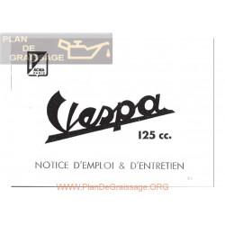 Vespa 125 Vn2 Version 1956 Manual Uso Y Mantenimiento Fr