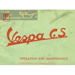 Vespa 150 Gs Manual Uso Y Mantenimiento Gb