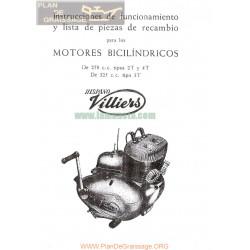 Villiers Hispano 250 Y 325 Motor Bicilindrico