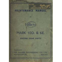 Villiers Mark 10d 6e Maintenance Manual