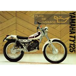 Yamaha 1977 Ty125 1k6