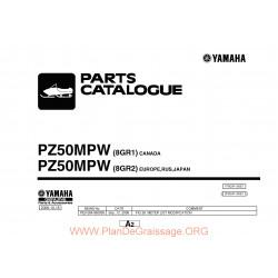 Yamaha 2007 Rt50mp 8gr2 1f8gr 100e1