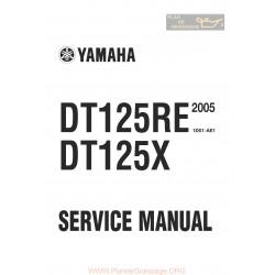 Yamaha Dt 125 X Re 2005 Manual De Reparatie