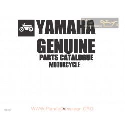 Yamaha Dt 250 E 400 E Parts List