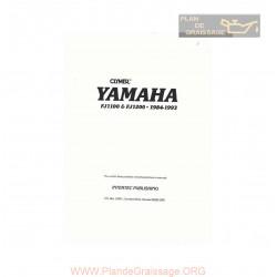 Yamaha Fj 1100 1200 1984 1993 Manual De Reparatie