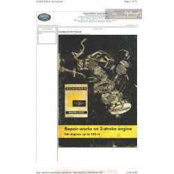 Zundapp 100 1966 Manual De Reparatie