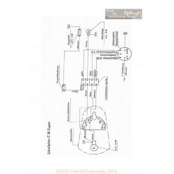 Zundapp C50 Super Schema Electrica