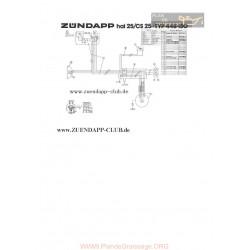 Zundapp Hai 25 Cs 25 Schema Electrica