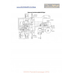 Zundapp Ks 125 Sport Schema Electrica