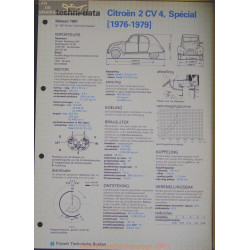 Citroen 2cv 4 Special Techni 1981