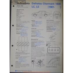 Daihatsu Charmant 1600 Lc Le Techni 1982
