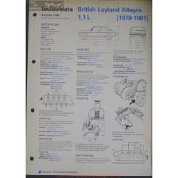 Leyland British Allegro 1100 L Techni 1982