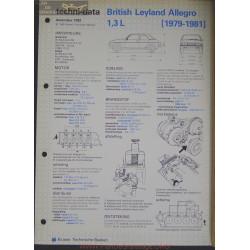 Leyland British Allegro 1300 L Techni 1982