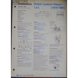 Leyland British Allegro 1500 L Techni 1982