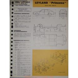 Leyland Princess 1800 2000 Hl Carrosserie
