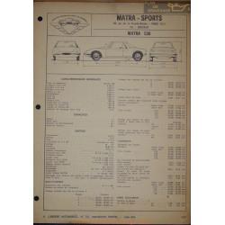 Matra 530 Fiche Technique