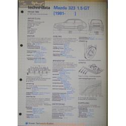 Mazda 323 1500 Gt Techni 1982