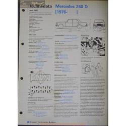 Mercedes 240 D Techni 1983