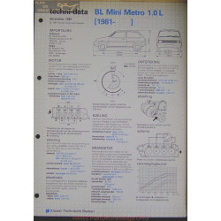 Mini Bl Metro 1000 L Techni 1981