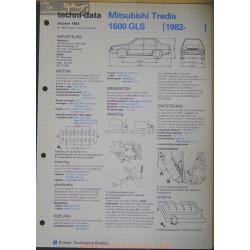Mitsubischi Tredia 1600 Gls Techni 1983