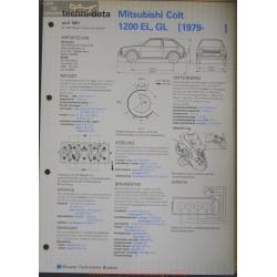 Mitsubishi Colt 1200 El Gl Techni 1981