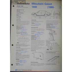 Mitsubishi Galant 1600 Techni 1982