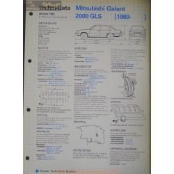 Mitsubishi Galant 2000 Gls Techni 1982