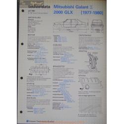 Mitsubishi Galant 2000 Glx Techni 1981