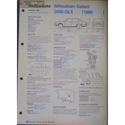 Mitsubishi Galant 2000 Glx Techni 1982