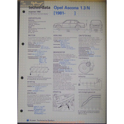 Opel Asconna 1300 N Techni 1982