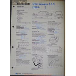 Opel Asconna 1300 S Techni 1983