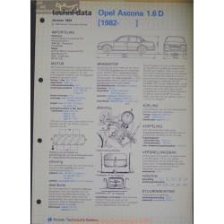 Opel Asconna 1600 D Techni 1983