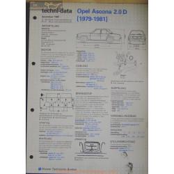Opel Asconna 2000 D Techni 1981