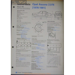 Opel Asconna 2000 N Techni 1982