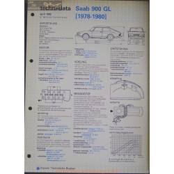 Saab 900 Gl Techni 1982