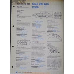 Saab 900 Gls Techni 1982