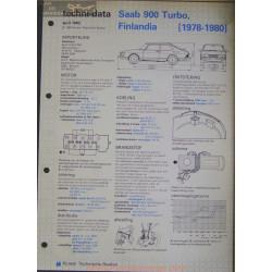 Saab 900 Trubo Techni 1982
