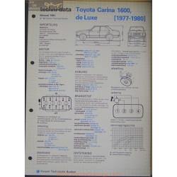 Toyota Carina 1600 De Luxe Techni 1981